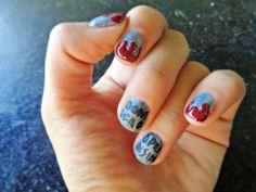 The Walking Dead Halloween Themed Easy Nail Art Tutorial HeyHar Harli