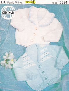 Items similar to PDF Vintage Baby Sailor Girl Knitting Pattern Frilly Cardigans Sirdar 3394 Yoke Lacy Cropped baby Doll Fairytale Party Collar Stripey on Etsy Baby Patterns, Knitting Patterns, Crochet Patterns, Knitting Projects, Blue Lacy, Baby Girl Cardigans, Fairytale Party, Baby Coat, Easy Stitch
