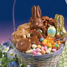 Adult Easter Basket of Sweets, Large ~~ #easter #easterbasket ~~