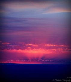 ✯ New Mexico Sky at Sunset