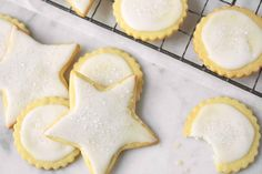 Crisp butter cookies, perfect for rolling and cutting out.