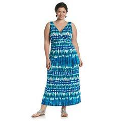 Product: Notations® Plus Size Twist-Front Maxi Dress