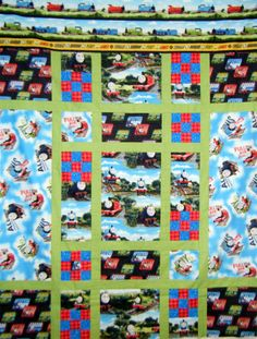 #quilts Thomas The Train