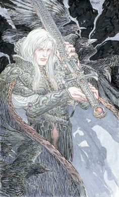 Elric by Michael Kaluta.