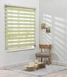 Customized Window Roller Blind Zebra Vertical Curtain horizontal treatment H 72