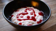 Naaammmm……. Jeg elsker riskrem og tror det må være en av mine favoritt desserter. Jeg