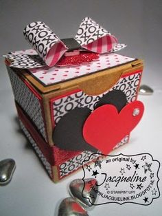 Stampin Jacqueline: Tiny Treat Boxes