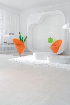Kurk is erg sterk en veerkrachtig, met alle schokdempende voordelen van dien. #kurk #vloer #design #interieur
