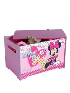 Minnie Mouse Toy Box | very.co.uk