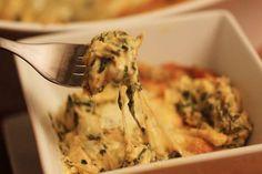Hot Cheesy Spinach & Artichoke Dip (Mellow Mushroom Copycat)