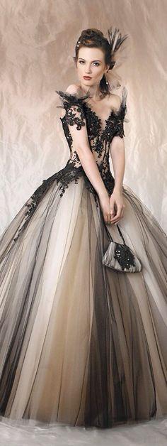 Muito glamouroso esse vestido!!