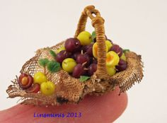 A rustic basket of plums to be auctioned for Marlene's fund on 11th Jan 2014...be there!