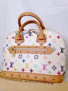 """My """"Alma"""" in Multi Color. Louis Vuitton - Bday Present from my Baby!"""