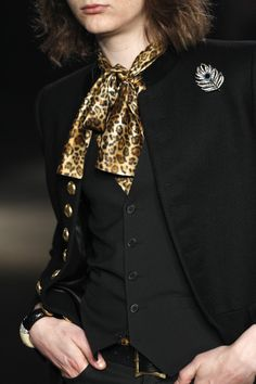 See detail photos for Saint Laurent Fall 2016 Menswear collection.
