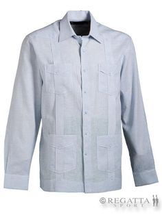 Conoce una de las 10 prendas de vestir que todo caballero debe tener, #Guayabera en Lino o Algodón #RegattaSport