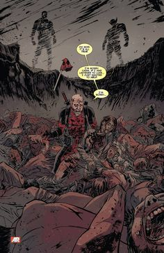 That time Deadpool found the mother of his child in a mass grave and had a total mental breakdown - Imgur