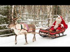 Hiver de la Ville du Père Noël Rovaniemi en Laponie