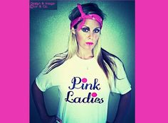 Grease Movie, Grease Pink Ladies, Womens Tshirt, Womens Clothing, Funny T Shirt, Pink Ladies Shirt, Matching Family Shirts, Liv & Co. on Etsy, $19.00