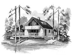 Main image for house plan # 17302