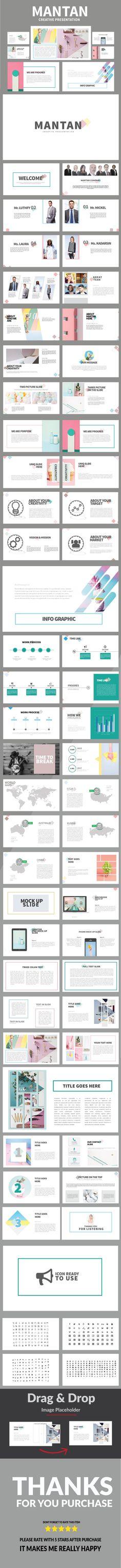 Mantan Multipurpose Powerpoint - PowerPoint Templates Presentation Templates