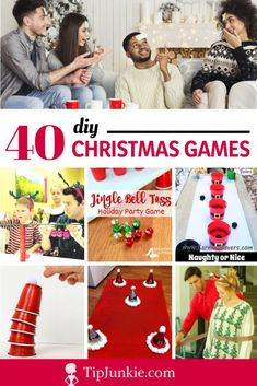 34 Christmas Games & Party Themes {best parties ever!}
