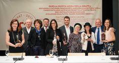 Bertagnolli, Castagner, Franciacorta, Marzadro e Mazzetti d'Altavilla, cinque Distillerie unite per promuovere il mondo della Grappa a Vinitaly 2017.