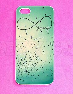 A case with the infinity sign