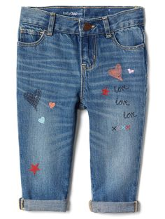 Cute babygirl jeans
