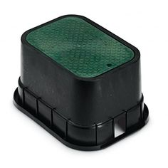 Rainbird Standard Black Body with Dropin Lid and Single Pipe Slots 12 Green * You can find more details by visiting the image link.