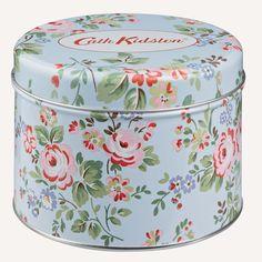 Cath Kidston Chelsea Blue   Tin