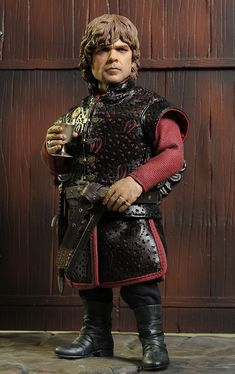 Tyrion Lannister sixth scale Game of Thrones action figure by ThreeZero.