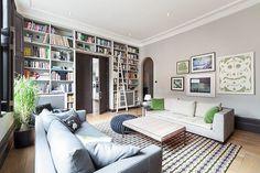 Eclectic West #London Apartment #design - http://www.homeadore.com/2014/09/17/west-london-apartment/ -  via Home Adore RT Cruzine