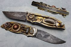 Steampunk Knives