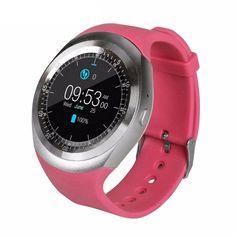 451cb8a0b5e Smart Watch Y1 Bluetooth Smartwatch Relogios Watch 2G GSM SIM App Sync  Watches