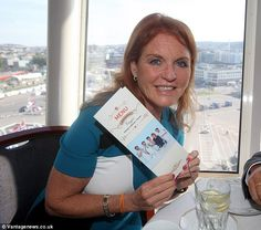 Let them eat cake: The Duchess promotes her Afternoon Tea for the Norwegian ferry group