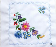 カロチャ刺繍してみましょう---輸入手芸用品店『プチコパン』