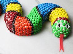 Slinky the Snake Cake