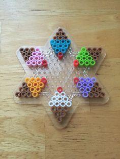 Ice cream cone pearler bead pattern