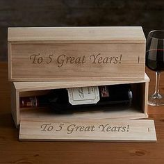 Wine Bottle Box | Corporate Gifts For Clients