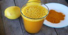 La limonata alla curcuma che tratta la depressione e migliora l'umore