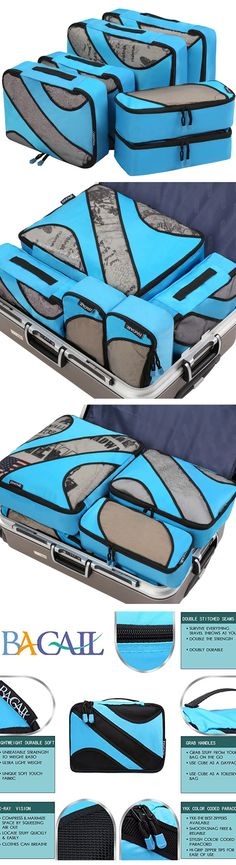 5a177f2cf34 6 Set Packing Cubes,3 Various Sizes Travel Luggage Packing Organizers  Bagail.com Tecnologia