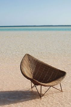 Well who kindly put a chair on a beach for me?! Just perfect! #JetsetterCurator