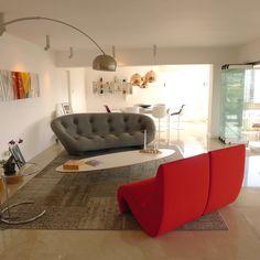 Espacios en armonía con el arte . Proyecto, apartamento Moncada- Barros por Rafael Anselmi VS
