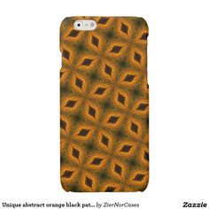 Purchase a new Modern case for your iPhone! Shop through thousands of designs for the iPhone iPhone 11 Pro, iPhone 11 Pro Max and all the previous models! Iphone Models, Black Pattern, Iphone Case Covers, Create Your Own, Orange, Abstract, Unique, Modern, Design