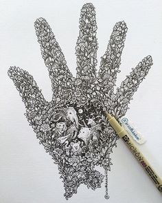 #tbt Protect our nature and wildlife #art #drawing #original #wildlife #visothkakvei