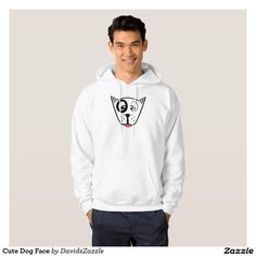 Cute Dog Face Men's Hoody Available on many products! Hit the 'available on' tab near the product description to see them all! Thanks for looking!  @zazzle #art #cute #cartoon #funny #dog #cute #pet #friend #family #drawing #digital #black #sweet #nice #friend #women #men #kids #clothes #fashion #style #apparel #tee #tshirt #hoody #sweatshirt #shop #gift #idea #shopping #buy #sale #puppy