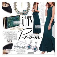 """Prom Do-Over: Your New Dream Dress"" by vanjazivadinovic ❤ liked on Polyvore featuring Victoria Beckham, Hedi Slimane, Industrie and Bela"