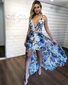 41b87170ef Vestido de festa floral longo  14 modelos para madrinhas e convidadas 2019