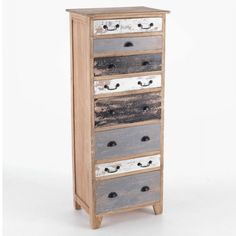 Standing at 5 Feet tall this Piccadilly Shabby Chic Painted Eight Drawer Chest will certainly store everything and more for you. Eight drawers up the front of v Pine Bedroom Furniture, Shabby Chic Furniture, Furniture Decor, Painted Furniture, Rustic Industrial, Industrial Furniture, Wooden Chest, Style Vintage, Furniture Collection