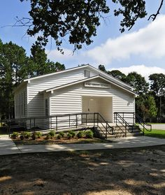 Pine Grove Rosenwald School in Richland County, South Carolina.